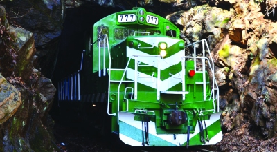 The Watauga Valley Railroad Museum will once again offer its spring excursion through the beautiful Smoky Mountains on May 16. The train will depart Bryson City, N/C, and travel through the mountains and countryside of western North Carolina to Nantahala Gorge. The one-day trip will cover a lot of the operating trackage of the Great Smoky Mountains Railway.